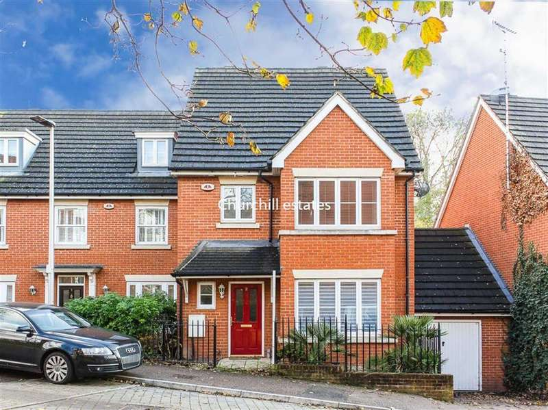 4 Bedrooms Semi Detached House for sale in Clementine Walk, Woodford Green