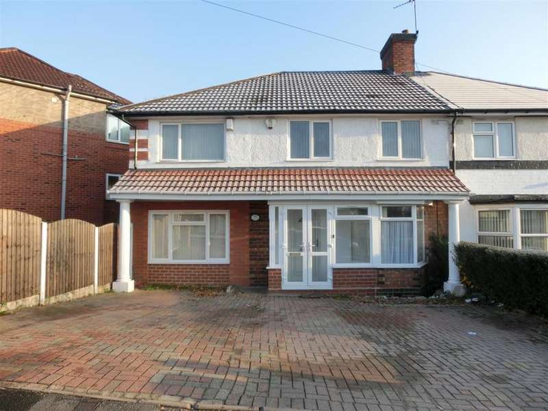 4 Bedrooms Semi Detached House for sale in Oakhurst Road, Birmingham