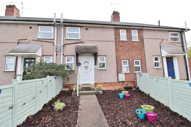 2 Bedrooms Terraced House for sale in Harrowby Close, Grantham