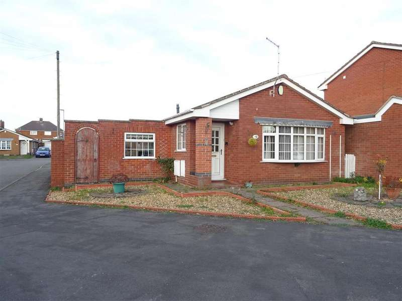 2 Bedrooms Detached Bungalow for sale in Linden Close, Ibstock, Leicestershire