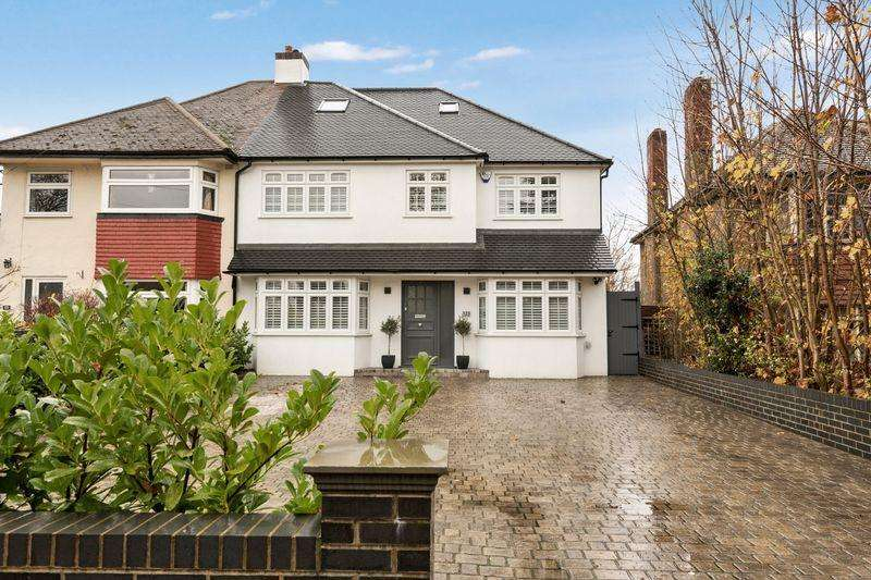5 Bedrooms Semi Detached House for sale in SOUTH CHEAM