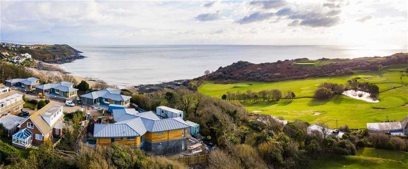 4 Bedrooms Detached House for sale in Westwinds, Westwinds, Swansea, Swansea