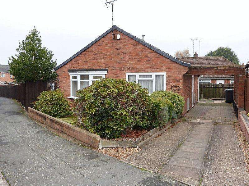 2 Bedrooms Detached Bungalow for sale in Chappell Close, Thurmaston
