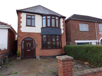 3 Bedrooms Detached House for sale in Crown Hills Avenue, Crown Hills, Leicester, Leicestershire