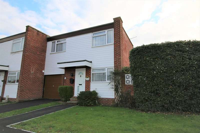 2 Bedrooms End Of Terrace House for sale in Lune Close, Riverdene, Basingstoke, RG21