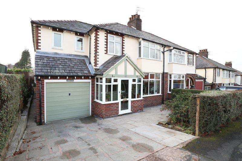 4 Bedrooms Semi Detached House for sale in Lark Hall Road, Macclesfield