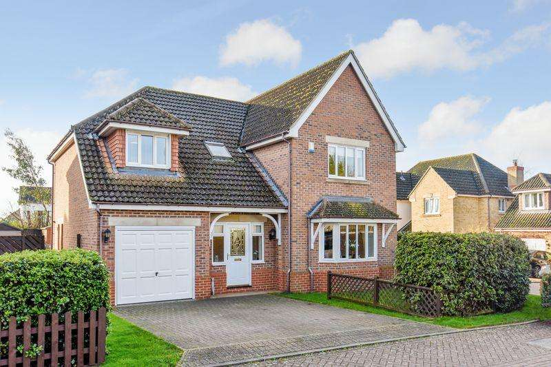 4 Bedrooms Detached House for sale in Hillside Meadow, Fordham, CB7 5PJ