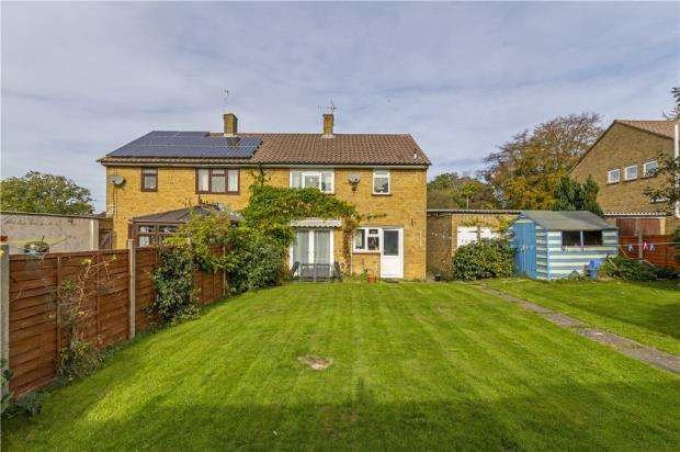 3 Bedrooms Semi Detached House for sale in Lily Hill Road, Bracknell, Berkshire