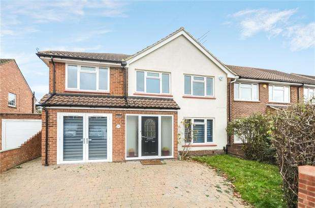 4 Bedrooms Semi Detached House for sale in Jacob Close, Windsor, Berkshire