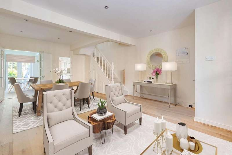 3 Bedrooms Terraced House for sale in Short Road, Chiswick, London