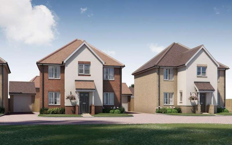 4 Bedrooms Detached House for sale in The Bromstone, Tavistock Place, BEDFORD, MK45