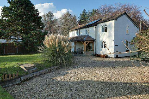 4 Bedrooms Detached House for sale in Hillersland Lane, Coleford