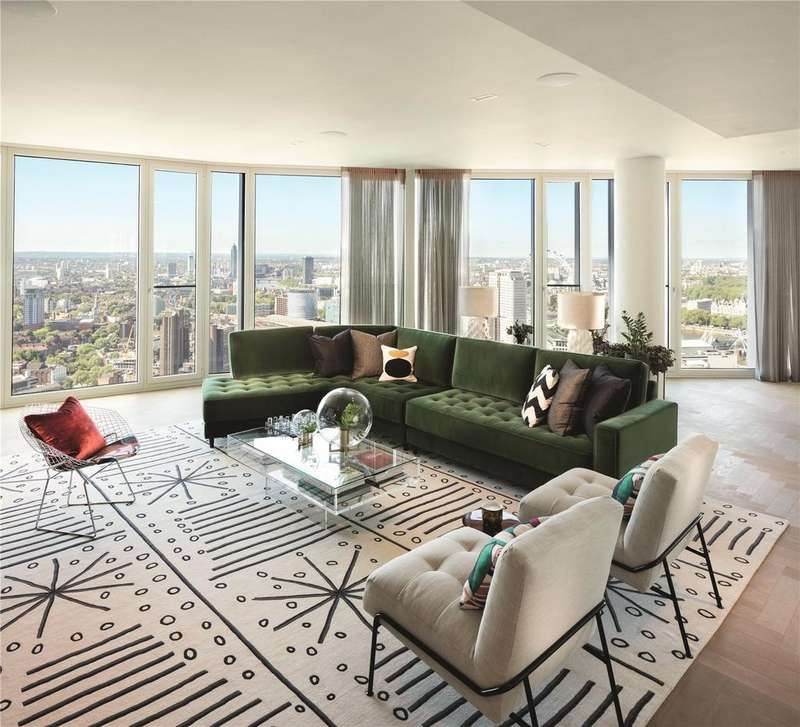3 Bedrooms Flat for sale in 3701 South Bank Tower, 55 Upper Ground, South Bank, London, SE1