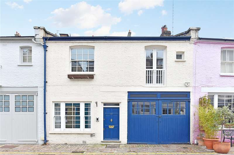 3 Bedrooms Mews House for sale in Cranley Mews, London, SW7