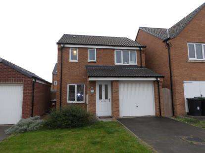 3 Bedrooms Detached House for sale in Ferrous Way, North Hykeham, Lincoln, Lincolnshire