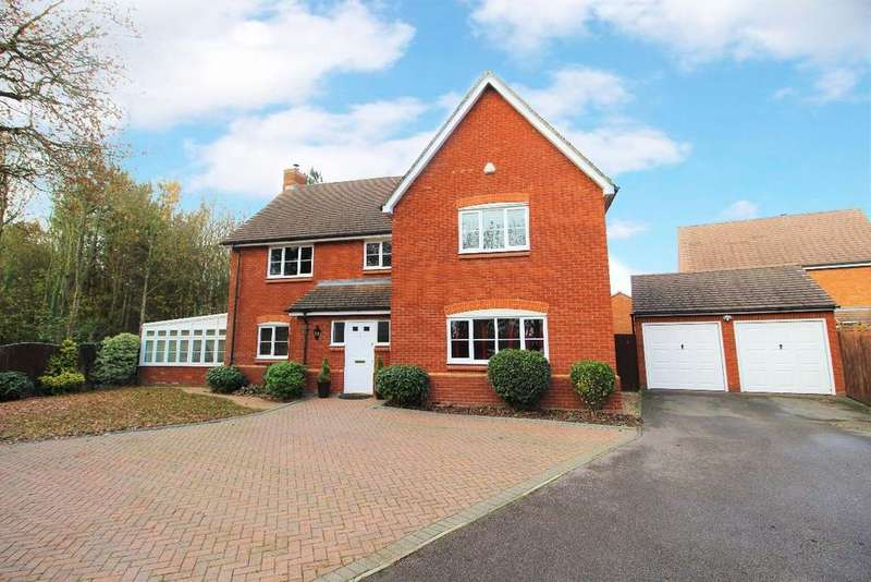 5 Bedrooms Detached House for sale in Howes Drive, Marston Mortaine MK43