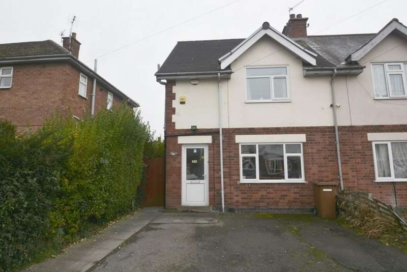 3 Bedrooms Semi Detached House for sale in William Iliffe Street, Hinckley, Leicestershire, LE10 0LY