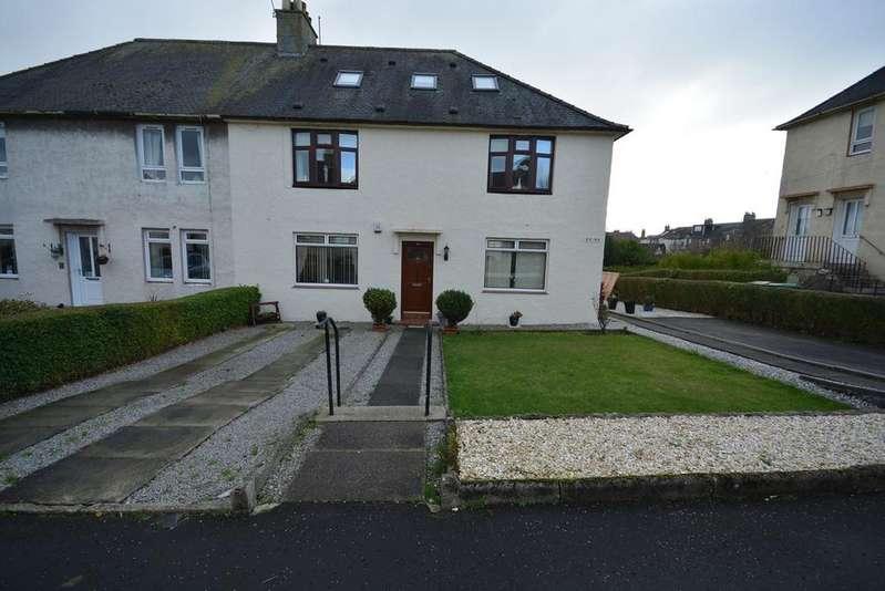 2 Bedrooms Ground Flat for sale in Gibson Street, Kilmarnock, KA1
