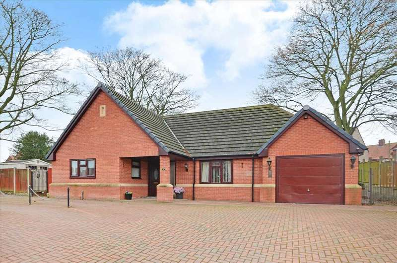 4 Bedrooms Bungalow for sale in Gables Close, Chesterfield