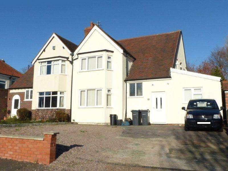 6 Bedrooms Semi Detached House for sale in Grange Road, Birmingham
