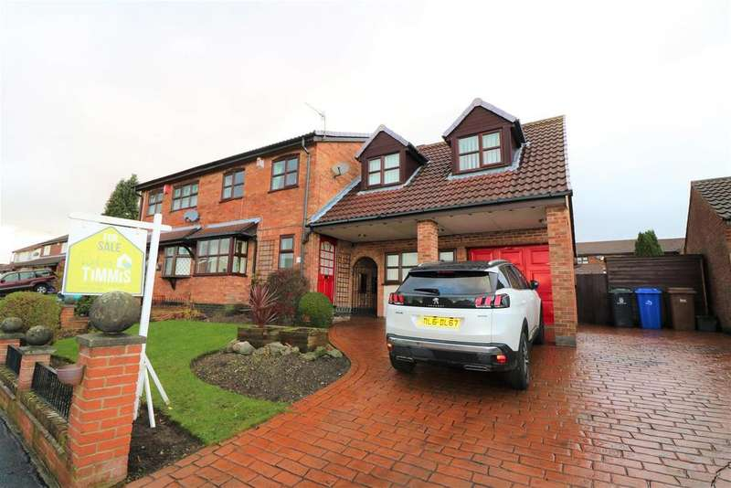 5 Bedrooms Semi Detached House for sale in Heatherleigh Grove, Birches Head, Stoke-On-Trent