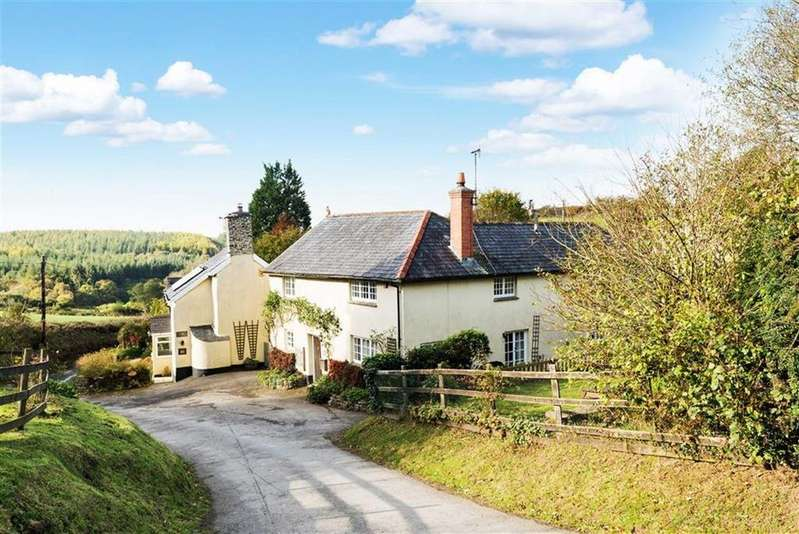 4 Bedrooms Detached House for sale in Knowstone, South Molton, Devon, EX36