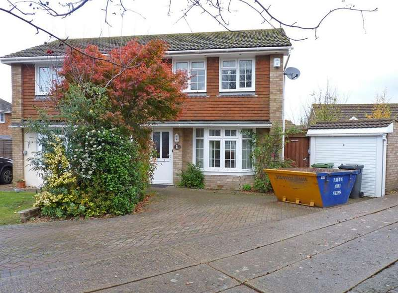 2 Bedrooms Semi Detached House for sale in Fairisle Close, Hailsham