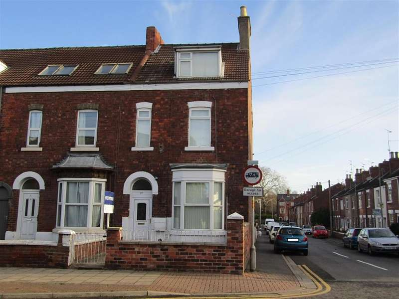 4 Bedrooms End Of Terrace House for sale in Lea Road, Gainsborough, DN21 1LL