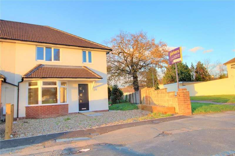 3 Bedrooms End Of Terrace House for sale in Foxhays Road, Whitley Wood, Reading, Berkshire, RG2