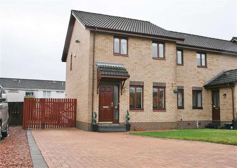 3 Bedrooms End Of Terrace House for sale in Avonside Drive, Denny, Stirlingshire