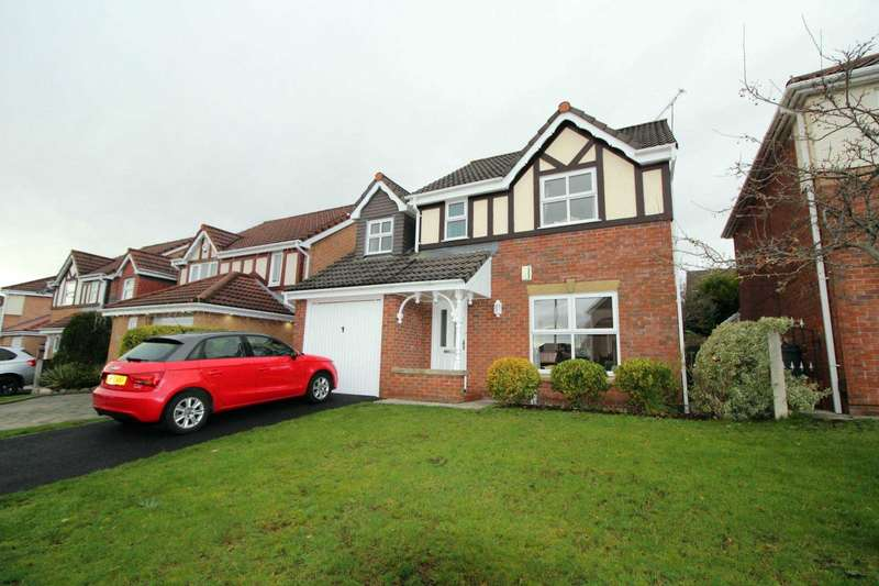 4 Bedrooms Detached House for sale in Fewston Close, Bolton
