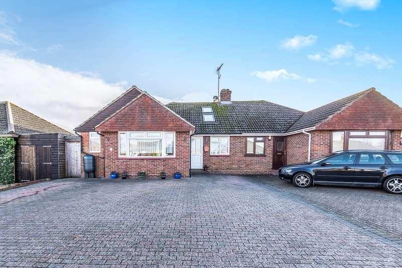 4 Bedrooms Semi Detached Bungalow for sale in Denham Drive, The Berg Estate, Basingstoke, RG22
