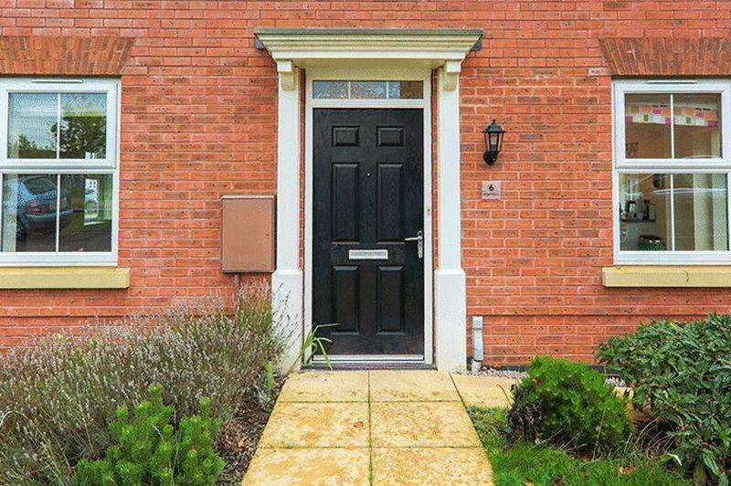 3 Bedrooms Detached House for sale in Angell Drive, Market Harborough
