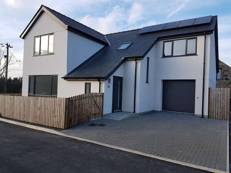 4 Bedrooms Detached House for sale in Cwrt Cae Glas, Waunfawr, North Wales