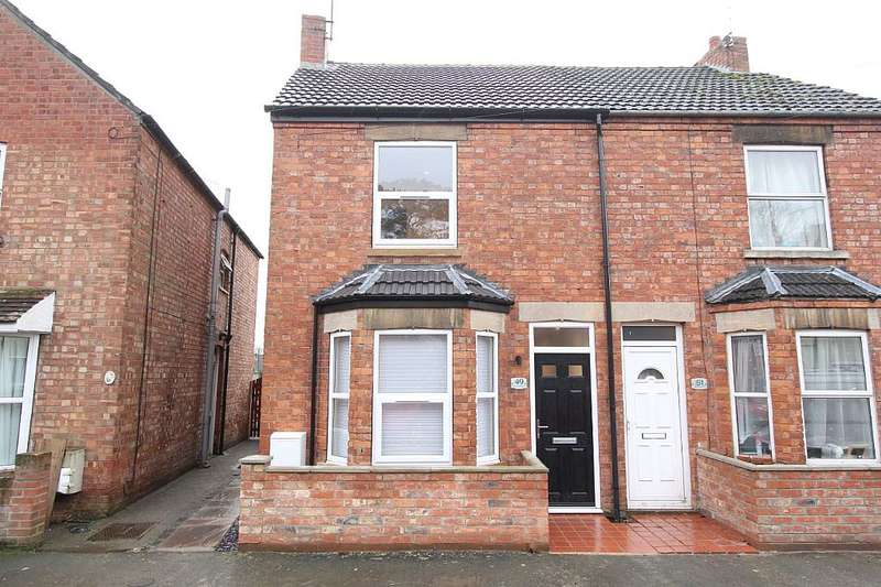 3 Bedrooms Semi Detached House for sale in Electric Station Road, Sleaford, Lincolnshire, NG34 7QL