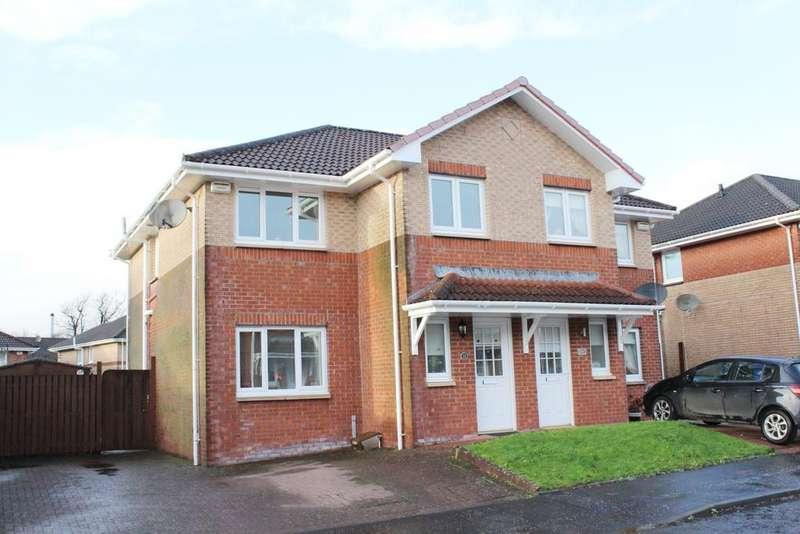 3 Bedrooms Semi Detached House for sale in Oakburn Walk, Jamestown G83
