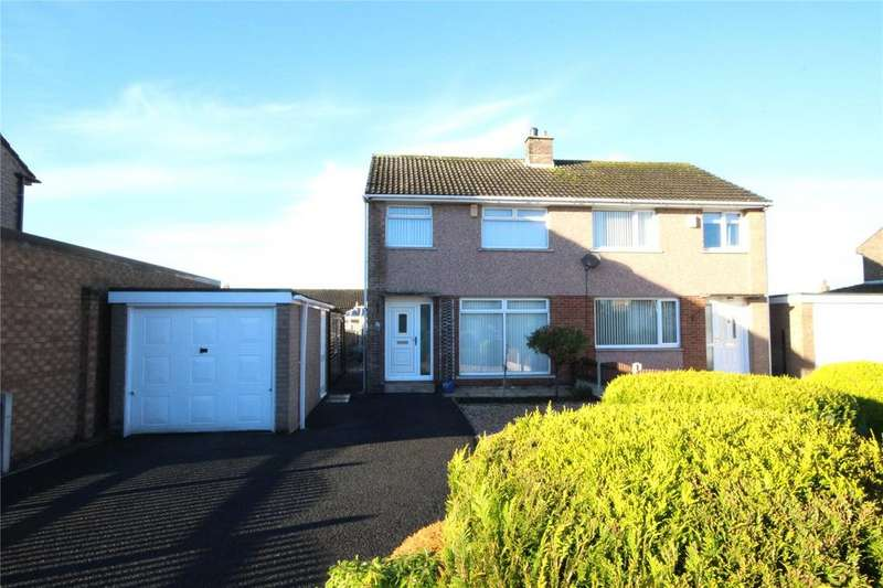 3 Bedrooms Semi Detached House for sale in 37 Highmoor Park, Wigton, Cumbria