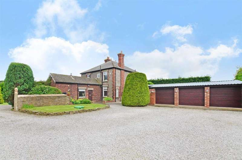 4 Bedrooms Detached House for sale in Dyche Lane, Coal Aston