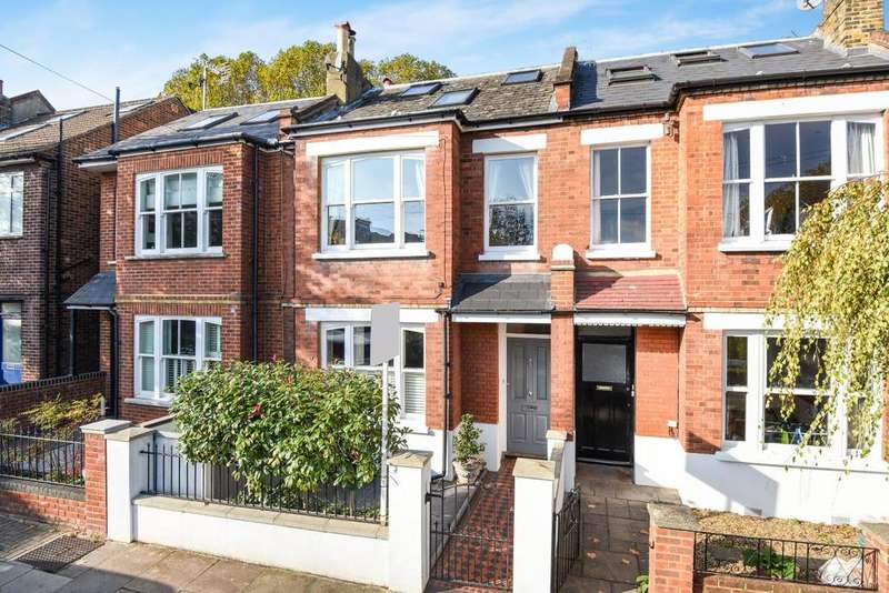 5 Bedrooms Terraced House for sale in Brandlehow Road, Putney