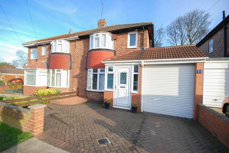 2 Bedrooms Semi Detached House for sale in Torver Crescent, Seaburn Dene
