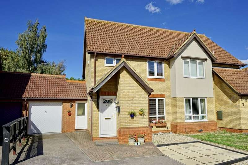3 Bedrooms Semi Detached House for sale in Partridge Piece, Sandy