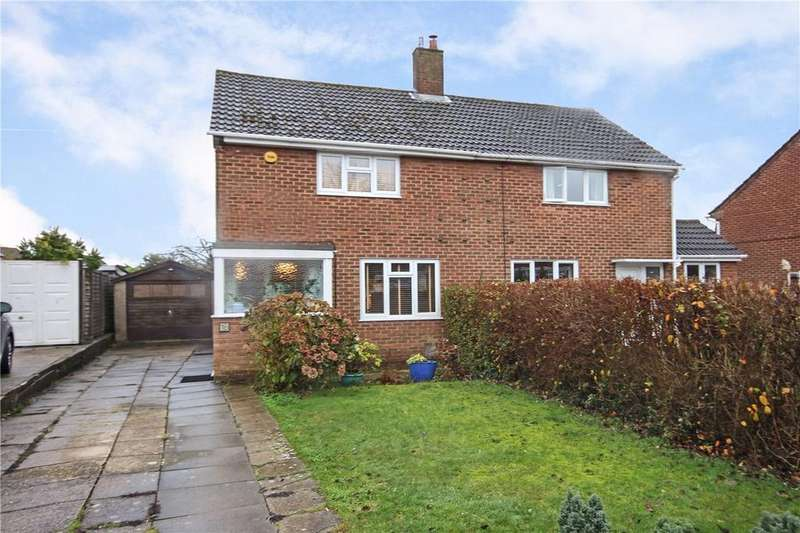 3 Bedrooms Semi Detached House for sale in Edgecote Close, Caddington, Bedfordshire
