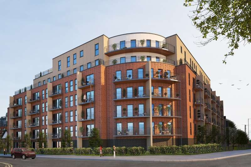 2 Bedrooms Flat for sale in Vanburgh Court, Stoke Road, Slough, SL2