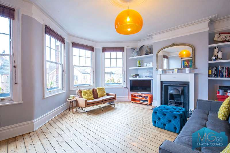 3 Bedrooms Apartment Flat for sale in Nightingale Lane, Crouch End, London, N8