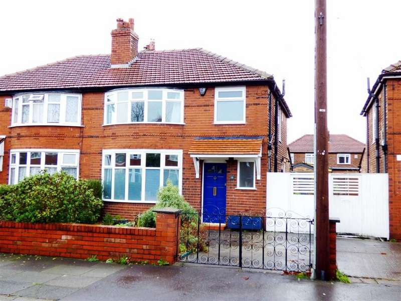 3 Bedrooms Semi Detached House for sale in St Chads Road, Withington, Manchester, M20