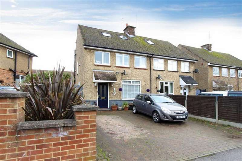 4 Bedrooms Semi Detached House for sale in Chelsea Green, Linslade, Leighton Buzzard