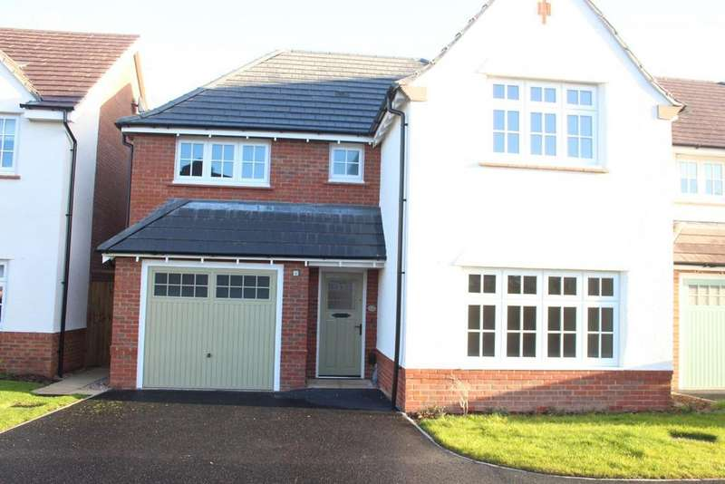 4 Bedrooms Detached House for sale in Porter Close, Hinckley