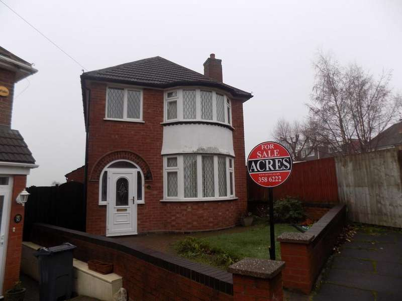 3 Bedrooms Detached House for sale in Hilliards Croft, Great Barr