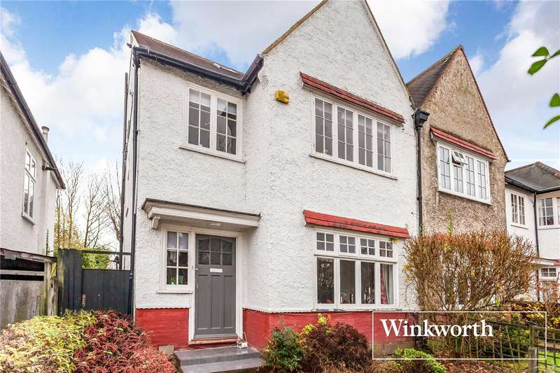 4 Bedrooms End Of Terrace House for sale in Strathmore Gardens, Finchley, London, N3