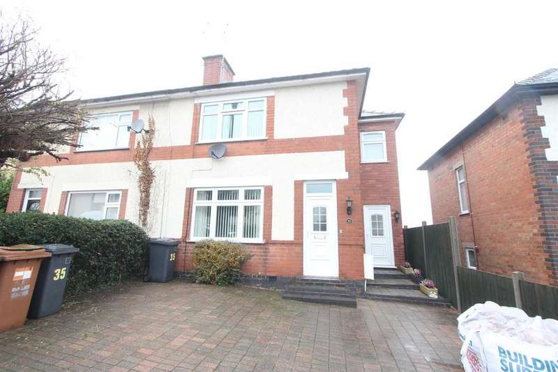 3 Bedrooms Semi Detached House for sale in Woodland Avenue, Burbage, Hinckley